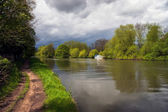 Fiume Tamigi a windsor — Foto Stock