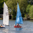 Sailing on River Thames near Richmond Surrey — Stock Photo #39630805