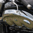 Close-up detail of Triumph Rocket III — Stock Photo #39802213