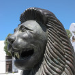 Stock Photo: Smiling lion statue in Teguise Lanzarote