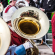 Reflection in tuba — Stock Photo #39804385
