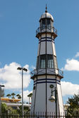 Model lighthouse in Lanzarote — Stock Photo