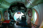 Interior yellow submarine operating out of Puerto del Carmen — Stock Photo