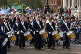 Christ's Hospital Horsham drummers — Stockfoto