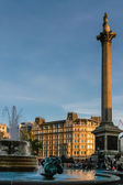 Trafalgar Square London — Stock Photo