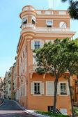 A street scene in Monte Carlo Monaco — Foto Stock