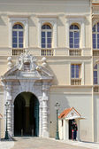 Guard on duty at the Palace in Monte Carlo Monaco — Stock Photo