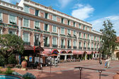 Monte Carlo street scene — Stock Photo