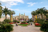 A view of the Casino at Monte Carlo Monaco from the gardens — Foto de Stock