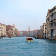Stock Photo: Cruising down Grand Canal Venice