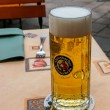 Stock Photo: Stein of lager on table in restaurant in Ihringen