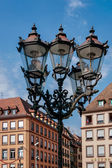 Street lamps in Strasbourg — Foto de Stock