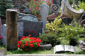 Gravestones and headstones for sale in Ihringen Germany — Zdjęcie stockowe