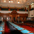 Stock Photo: Parliament chamber British Columbia