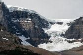 Athabasca Glacier Jasper National Park Alberta Canada — Stock Photo