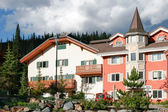 New apartments in Sun Peaks Resort in Kamloops — Stock Photo