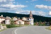 New apartments in Sun Peaks Resort in Kamloops — Stock Photo