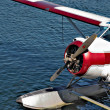 Stock Photo: Moored seplane in Vancouver