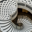 Stock Photo: Tate Britain Spiral Staircase
