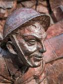 Gros plan d'une partie de la bataille de monument de grande-bretagne — Photo