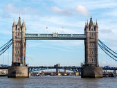 Tower Bridge seen from a River Bus — Stock Photo