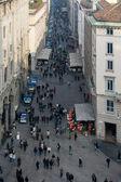 занят миланской улицы — Стоковое фото
