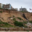 Stock Photo: Coastal erosion at Happisburgh Norfolk