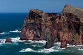 Cliffs at St Lawrence Madeira — Stok fotoğraf