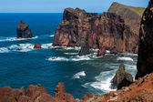 Cliffs at St Lawrence Madeira — Photo