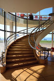 Staircase in the De La Warr Pavilion Bexhill On Sea — 图库照片