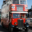 Stock Photo: Vintage Bus Rally in East Grinstead West Sussex