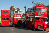 Vintage Bus Rally in East Grinstead West Sussex — Stock Photo