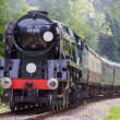 Stock Photo: Rebuilt Bulleid Light Pacific No. 34059
