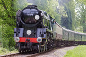 Rebuilt Bulleid Light Pacific No. 34059 — Stock Photo