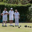 Lawn bowls match at Colemans Hatch — Stock Photo