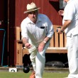 Lawn bowls match — Photo