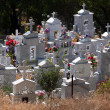Stock Photo: Cemetery in Cypriot village