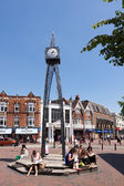 Millenium clock in Royal Tunbridge Wells — Stock Photo