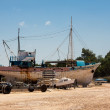 Stock Photo: Boatyard at Latchi in Cyprus