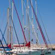 Stock Photo: Yachts in marinat Latchi