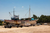 Boatyard at Latchi in Cyprus — Stock Photo