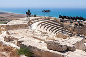 Temple of Apollo near Kourion — 图库照片