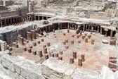 在 kourian 的古城遗迹 — 图库照片