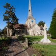 View of Horsted Keynes church on sunny autumn day — Stock Photo #40836595