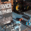 Very old cycle repair shop in East Grinstead — Stock Photo #40837733