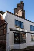 Unusual house in Judges Terrace East Grinstead — Stock Photo