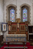 Interior view St Swithun's Church — Stock Photo