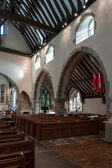 Interior view of St Peter ad Vincula church — Stock Photo