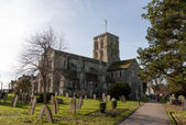 View of Shoreham church — ストック写真
