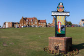 Hunstanton Sign — Stockfoto